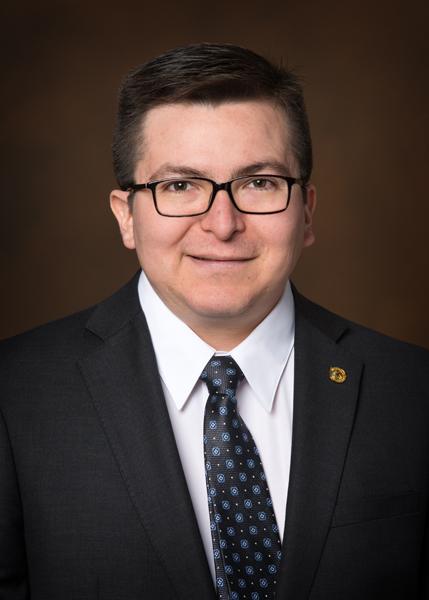 Alex Villareal, a pro-bono board member for the Wisconsin Sleep Society.